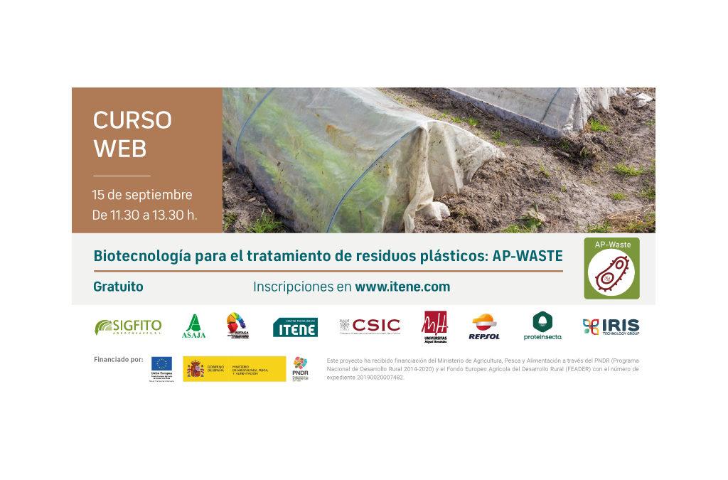 Biotecnología para el tratamiento de residuos plásticos: AP-WASTE