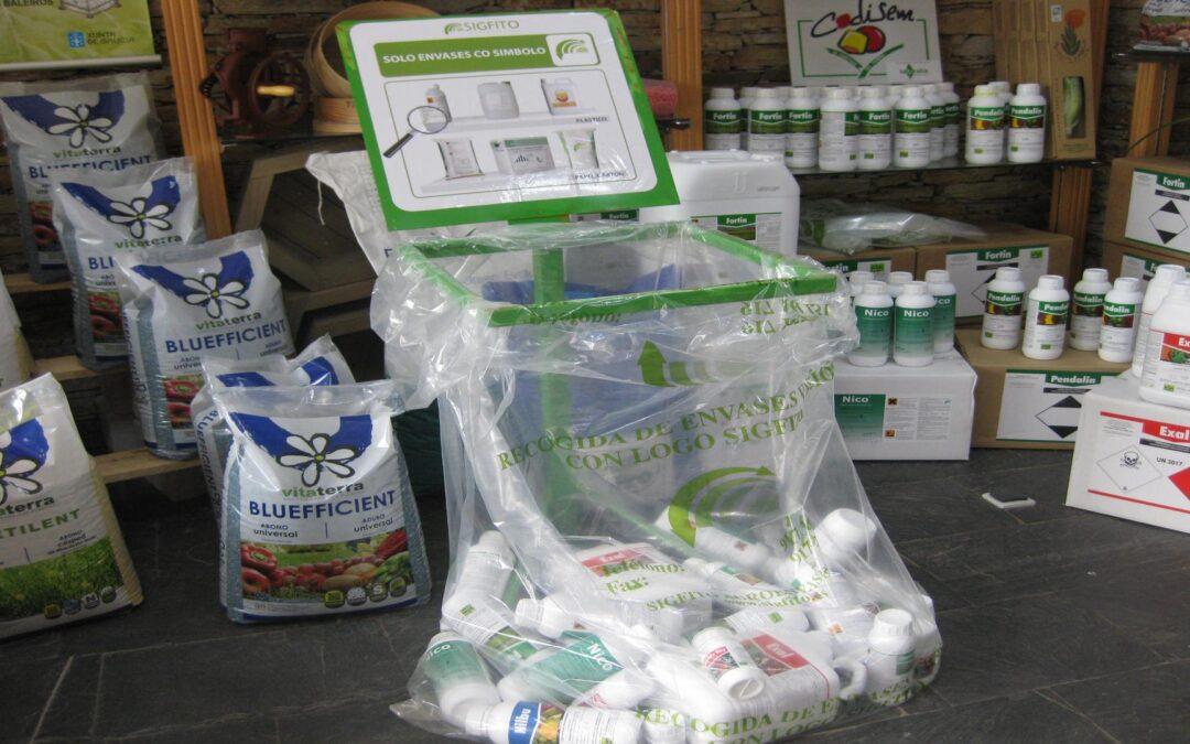 El proyecto AP-Waste estudia la biodegradación de los envases de SIGFITO a partir de insectos y microorganismos